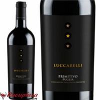 Rượu vang ý Luccarelli ba sao thùng 6 chai