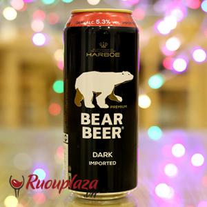 Bia gấu bear beer dark