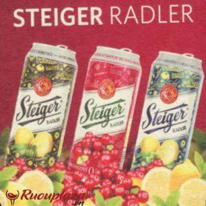 Bia Steiger hoa quả không cồn