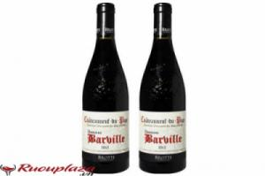 Rượu vang Pháp Chateauneuf Du Pape Domailne Barville