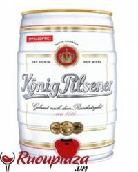 Bia Konig Pilsener Bom 5 lít