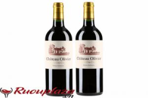 Rượu vang Pháp  Chateau Olivier Grand Cru Classe