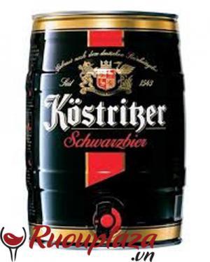 Bia Đen Kostritzer Bom 5 lít