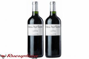 Rượu vang Pháp Chateaux Haut Cruzeau