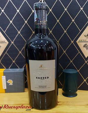 Rượu vang Ý Sasseo Primitivo Salento