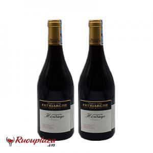 Rượu vang Pháp Patriarche Heritage