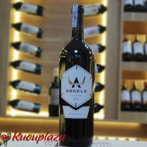 Rượu vang ý Angela Negroamaro