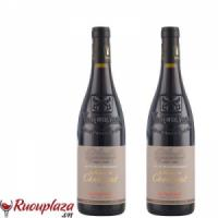 rượu vang pháp vacqueyras domain de chantegut 2014