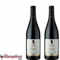 rượu vang Baron De Roussillac Visan 2016