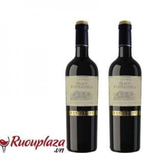 rượu vang Haut Fontaniels Languedoc 2017