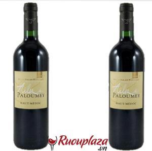 Rượu vang Pháp ALIES DE PALOUMEY 2008