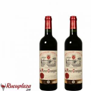 Rượu vang  Chateau La Fleur Cravignac 2013