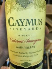 Rượu vang Mỹ Caymus Vineyards 2015