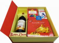 Hộp quà Tết Rượu vang Pháp dưới 500k