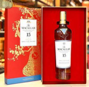 Hộp quà rượu Macallan 15