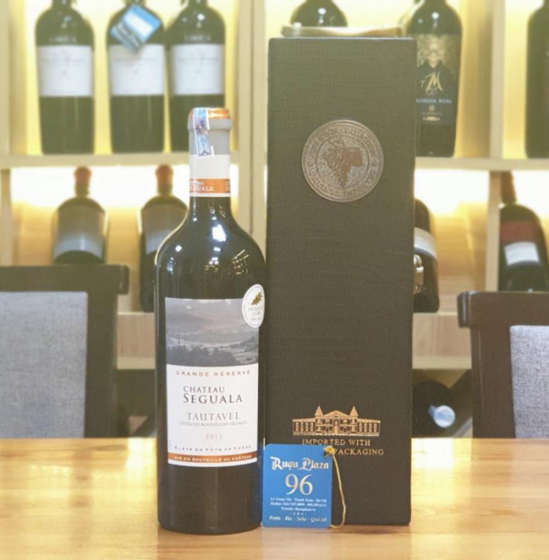 rượu vang Pháp chteau Seguala