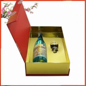 Hộp quà rượu sake vảy vàng Kimibandai