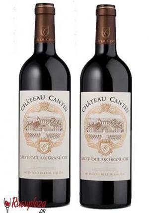Rượu vang Pháp Chateau Cantin Saint Emilion Cru Red 1500ML