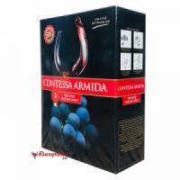 Rượu vang bịch ý ngọt contes arimida 3 lít