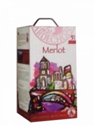 Rượu vang bịch Merlot 5 lít