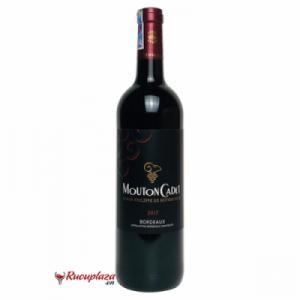 Rượu vang Pháp Mouton Cadet Bordeaux 2017 đỏ