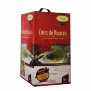 Rượu vang bịch AOC Vivarais 5 lít
