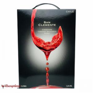 Rượu vang bịch San Clemente 3L