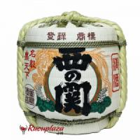 Rượu Sake Cói NishinoSeki Hana Barrel 1800ml