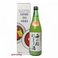 Rượu Sake Nishinoseki Nigorizake 720ml