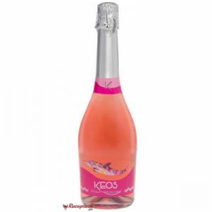 Rượu vang sủi KEOS Pink Moscato