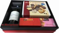 Hộp quà tết rượu vang Chile Novas m28