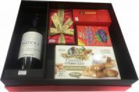 Hộp quà tết rượu vang Chile Novas M63