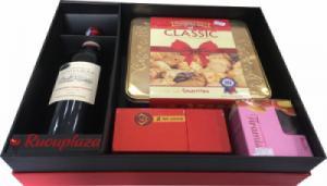 Hộp quà tết rượu vang Pháp Domaine M13