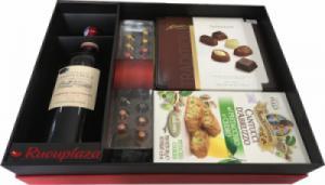 Hộp quà tết rượu vang Pháp Domaine M27