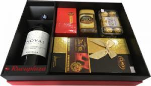 Hộp quà tết rượu vang Chile Novas M35