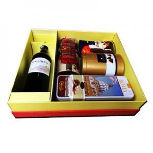 Hộp quà tết rượu vang Santalica-QT04