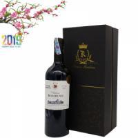 Hộp rượu vang Pháp Chateau Rombeau độ cồn 15,5%