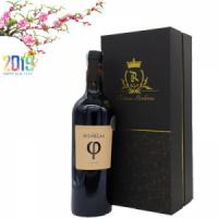 Hộp rượu vang Pháp Chateau Rombeau PHI độ cồn 15,5%