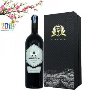 Hôp rượu vang Ý Angela độ cồn 14%