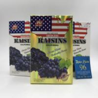 Nho khô đen Seedless Raisins California hộp giấy 250gr