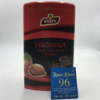 Kẹo Socola hạt dẻ hộp thiếc Hazelnut 180gr