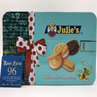 Bánh quy Julie's Biscuits hộp thiếc 270g