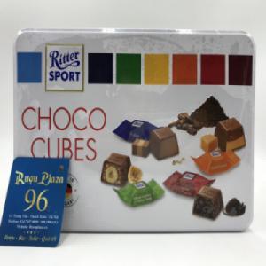 Kẹo socola 4 vị Choco Cubes 192g
