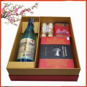Hộp quà tết Sake Nhật 01