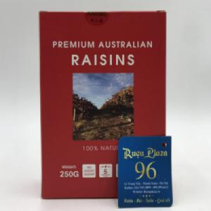 Nho rời Úc hộp giấy 250g