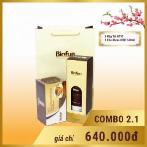 Set quà Tết cao cấp Đông Trùng Hạ Thảo Biofun 02