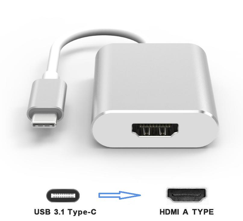 Kết quả hình ảnh cho CÁP TYPE-C -> HDMI KINGMASTER (KY-V005S)