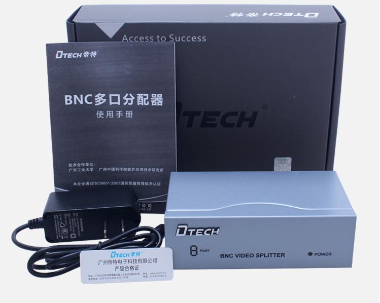 bo chia bnc 8 cong dtech dt-7108