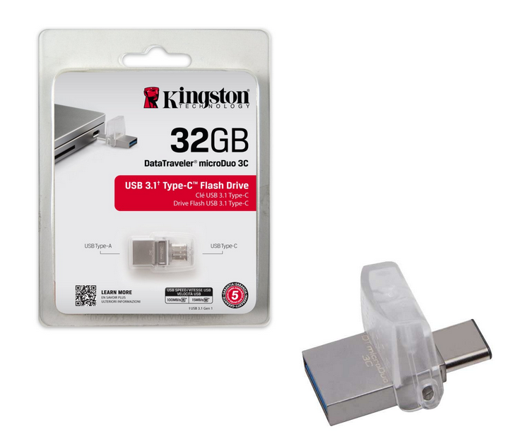 usb type-c kingston 32gb