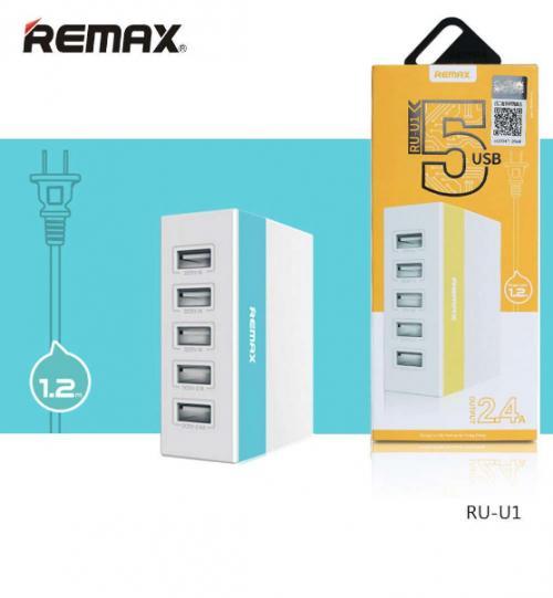 Củ sạc 5 cổng USB Remax RU-U1